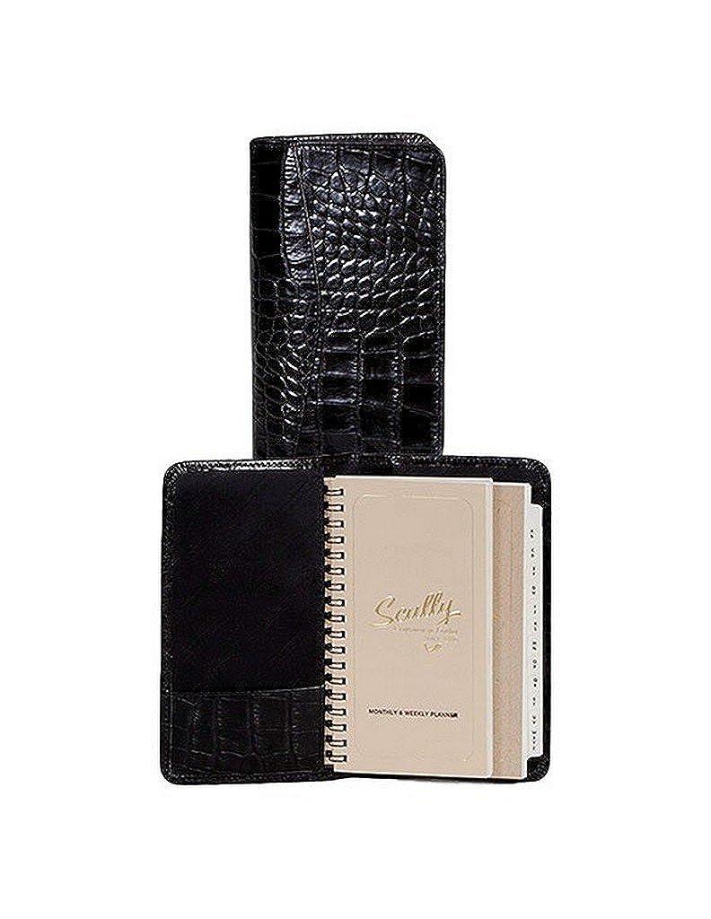 Amazon.com: Scully Leather Pocket Agenda Croco 5008 Address ...