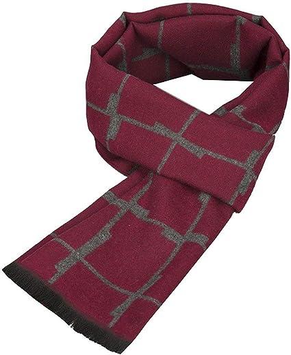 Battercake Halstuch Männer Silk Knit Long Neckwear Bequeme Schal Stitching Warm Herbst Winter