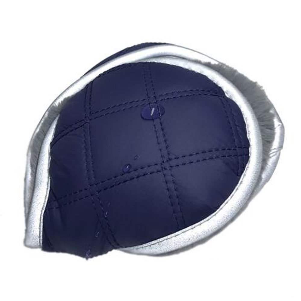 Dandress Unisex Outdoor Earmuffs Pure Color Knit Faux Furry Ear Muffs for Winter