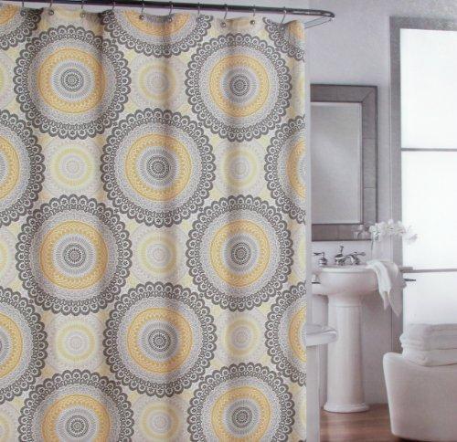 """Shower Curtain Fabric Designer Cynthia Rowley 72"""" X 72"""""""