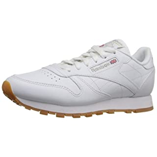 Reebok Women's Classic Leather Ripple Trail Sneaker, Us-White/Gum, 5 M US