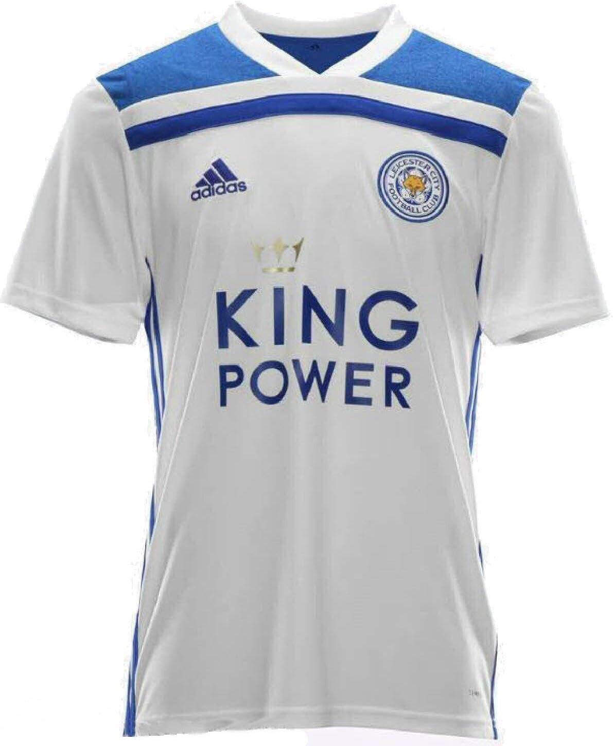 Pescador Depender de Cenagal  Leicester City F.C. LCFC Adidas Men's Away Football Shirt 2018-2019:  Amazon.co.uk: Sports & Outdoors