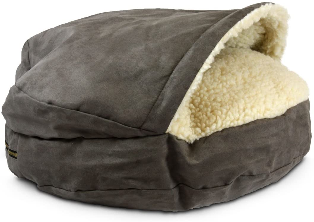 Snoozer Orthopedic Premium Micro Suede Cozy Cave Pet Bed