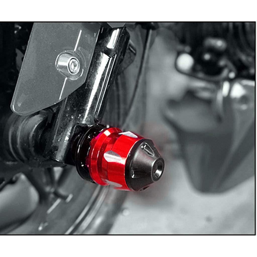 CNC Aluminum Alloy Front Wheel Drop Resistance perfk Motorcycle Front Fork Frame Slider Black