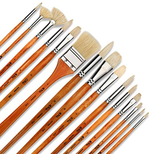 artify-15-pcs-oil-professional-paint-brushes-artist-grade-paintbrush-set-perfect-for-oil-painting-wi