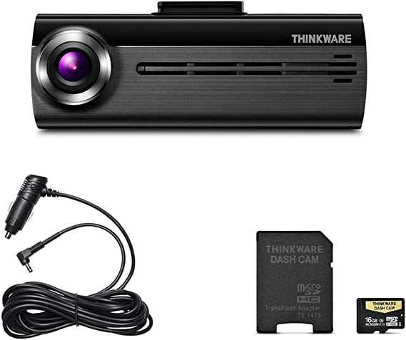 Amazon.com: Thinkware F200 Full HD 1080P Dash Cam with Wide ...