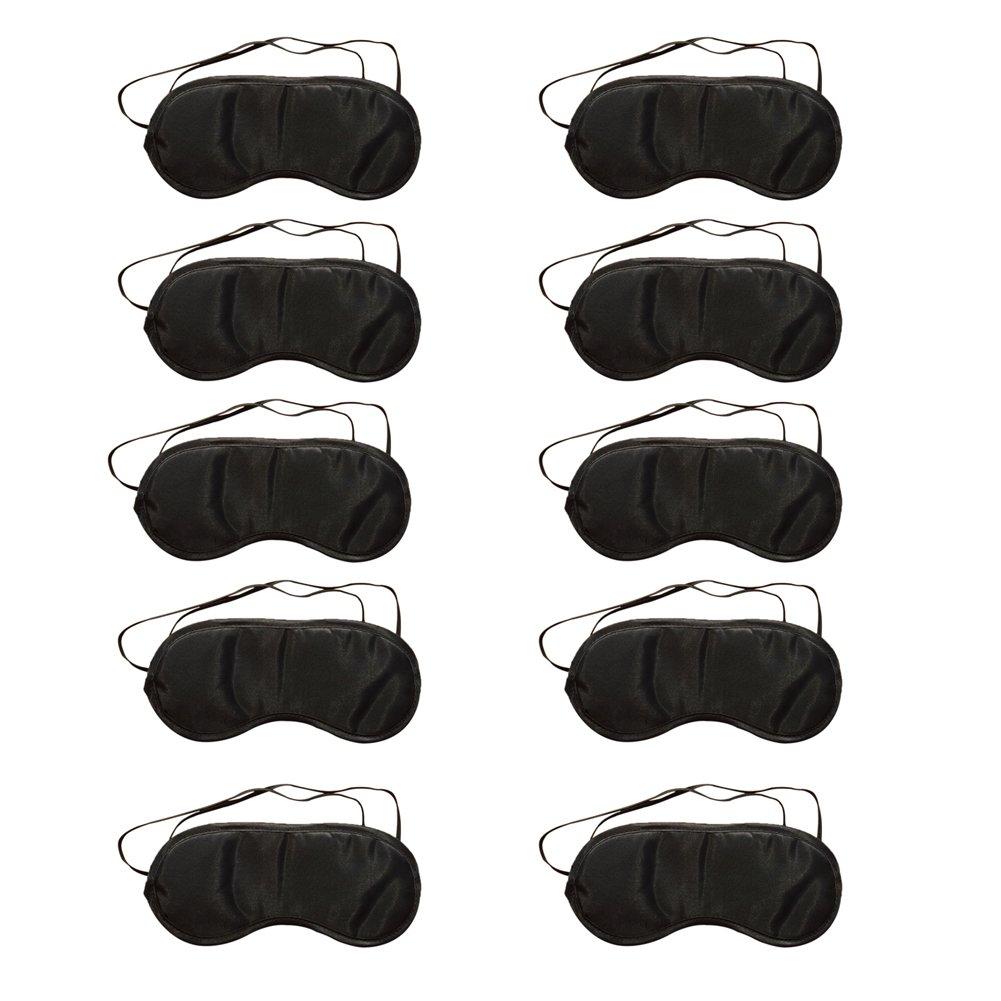 Ruikey 10 Pack Comfortable Air-permeable Sleep Eye Mask for a Full Night's Sleep