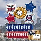 Minnesota Twins 25 Piece Balloon Set