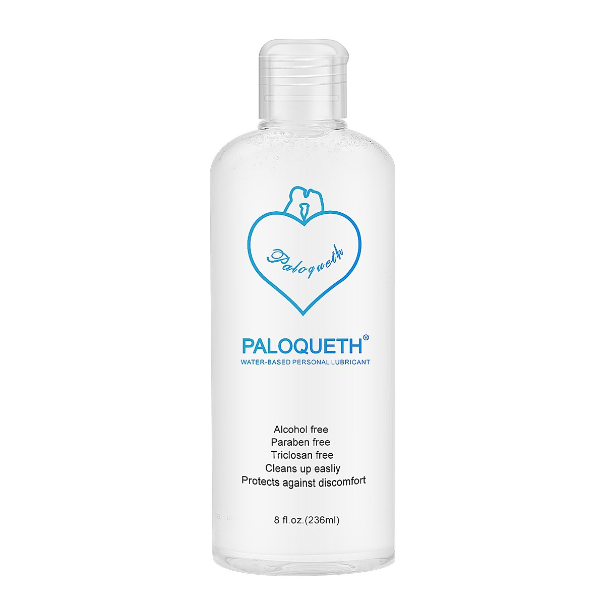 Lube For Women, PALOQUETH Personal Lubricants Water Based Lubricant For Vagina Dryness Paraben-free Hypoallergenic Super Slick Long Lasting 8 oz