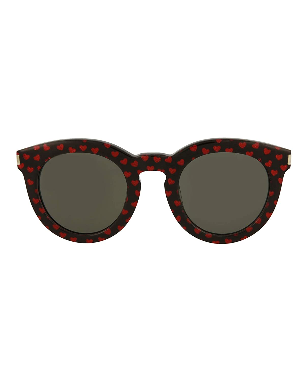 Sunglasses Saint Laurent SL 102-005 005 BLACK BLACK GREY