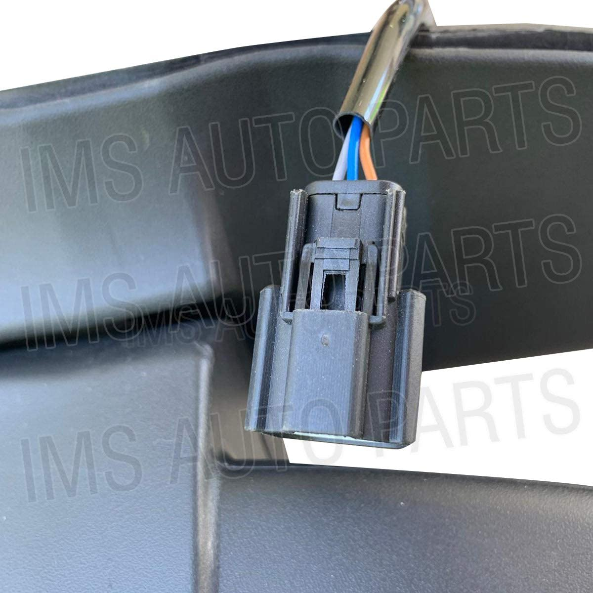 IMS auto parts Ford Transit 150 250 350 Heated Manual Mirror Short Arm Without Blinker Left Driver Side 2015 To 2019