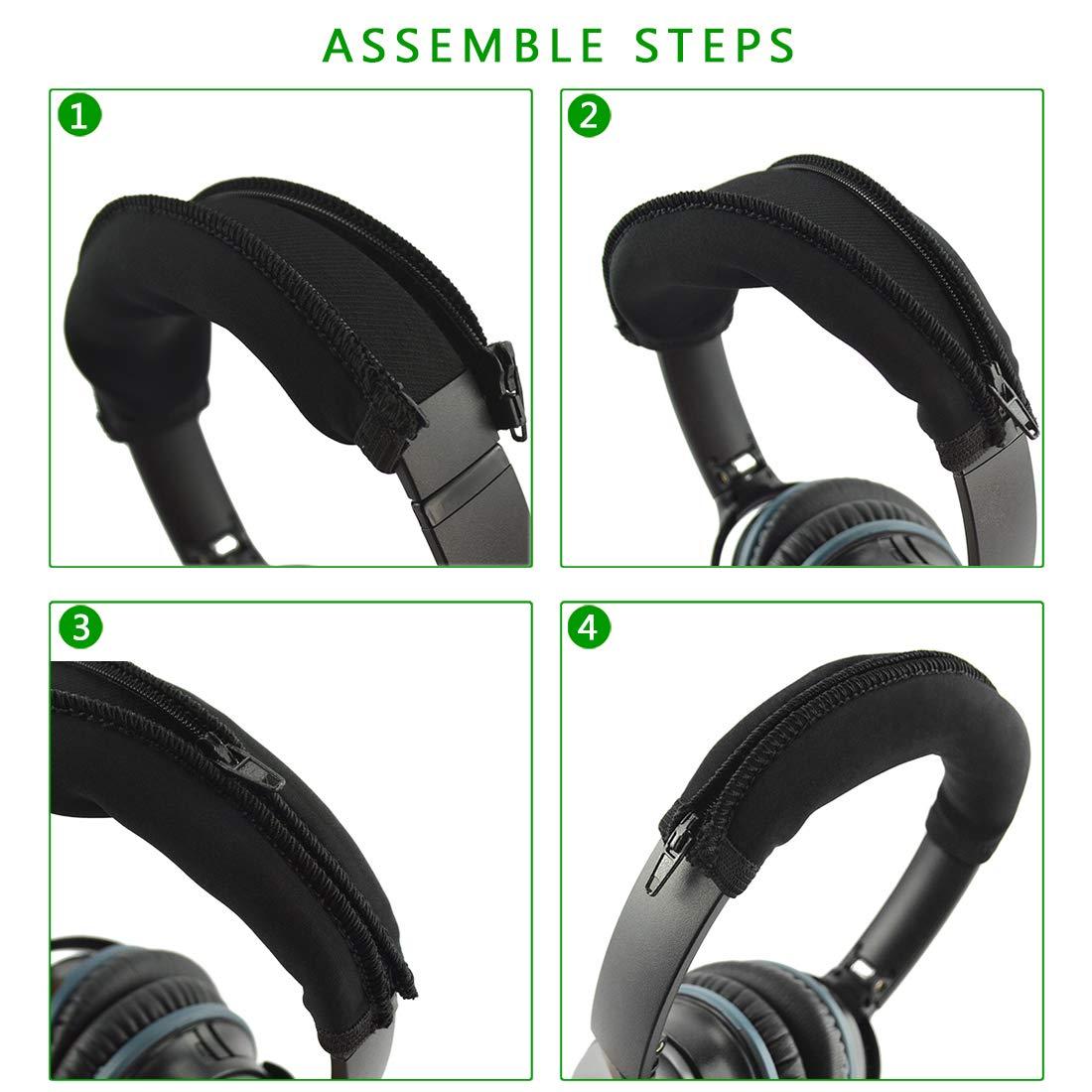Cancelaci/ón de ruido ac/ústica Bose QuietComfort QC25/Auriculares de repuesto para auriculares//Ear Cushion//Ear Cups//orejas Cubierta//almohadillas piezas de reparaci/ón