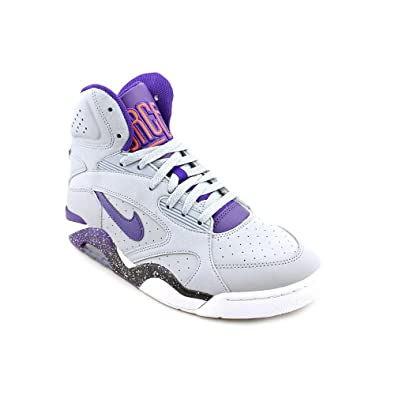 official photos eda92 24ff1 Amazon.com | New title should be AIR FORCE 180 MID WOLF GREY/ELECTRO  ORANGE/WHITE/COURT PURPLE 537330-050 Size 9. | Basketball