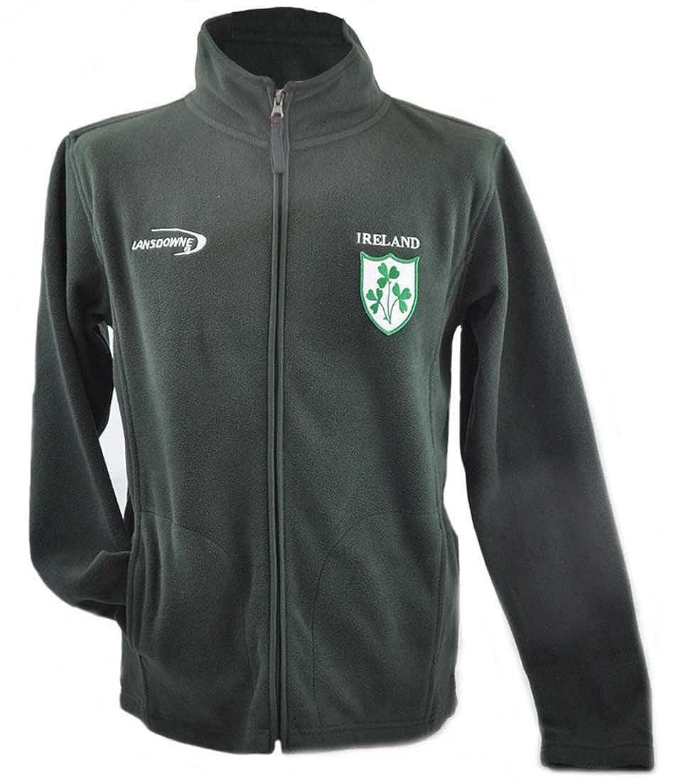 Botella de forro polar de Irlanda verde chaqueta de hípica ...