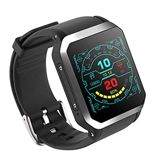 DBBKO Smartwatch Monitorización del Ritmo cardíaco en Tiempo Real ...