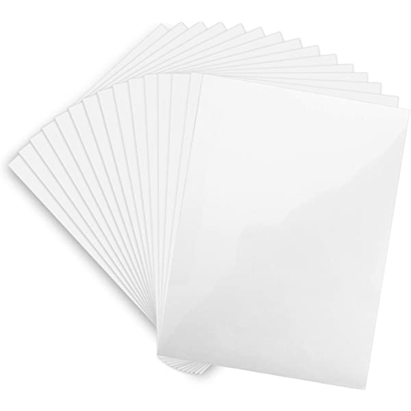 """30 WHITE SELF ADHESIVE LABELS 6/"""" BY 4/"""" STICKERS IDEAL FOR RECYCLING ENVELOPES"""