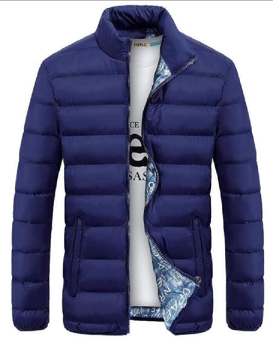 desolateness Mens Lightweight Packable Winter Outerwear Down Jacket Puffer Coat