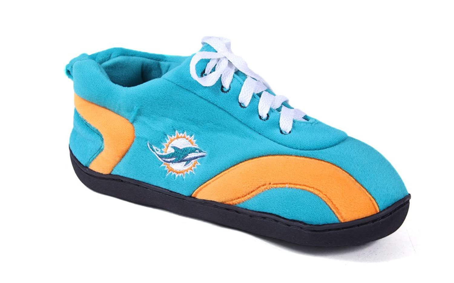 Happy Feet Mens and Womens Miami Dolphins All Around - Large