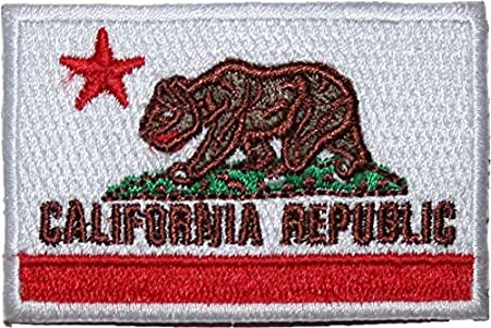 California Republic Fallout 10cm Embroidered Sew or Iron on Badge