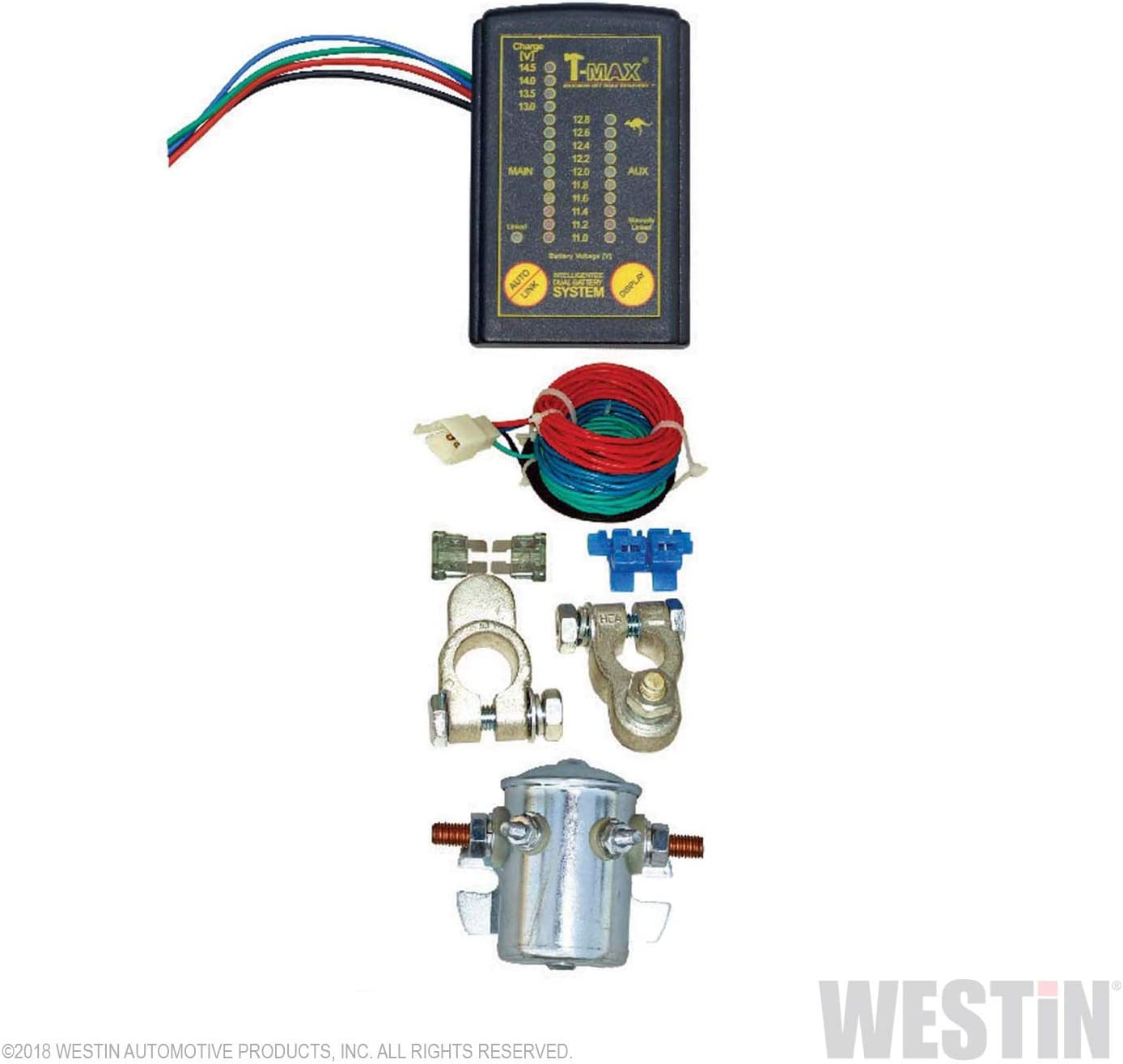 Land Rover  X-Charge System X-Eng  Winch Grade Split Charge Dual Battery
