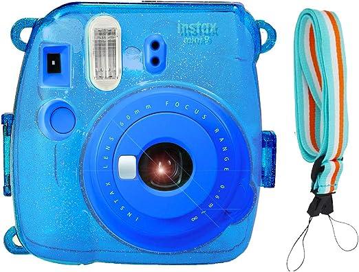 Mini 8 Mini 8 SAIKA 11 in 1 Accessories Bundle Set for Fujifilm Instax Mini 9 Blue Instant Film Camera//Fujifilm Instax Mini Instant Film