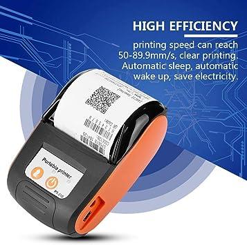 Impresora térmica inalámbrica de recibos Bluetooth, impresora ...