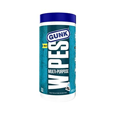 Gunk MPDW30-6PK Wipes 8 x 12 inch, 30-Count, 6 Pack: Automotive