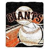 "MLB San Francisco Giants Big Stick Sherpa on Sherpa Throw, 50"" x 60"""