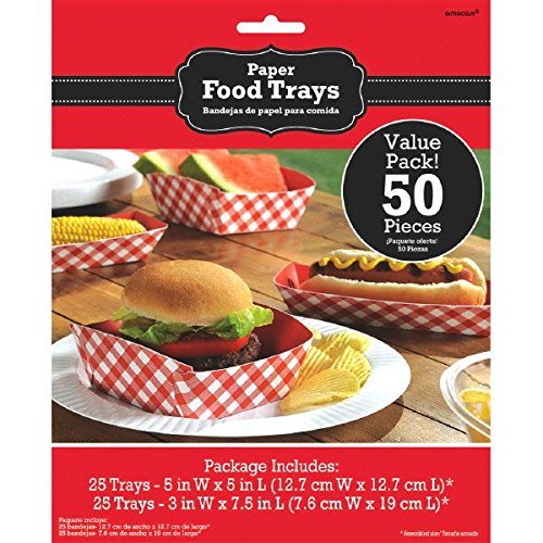Amscan Picnic Party Food Tray Kit
