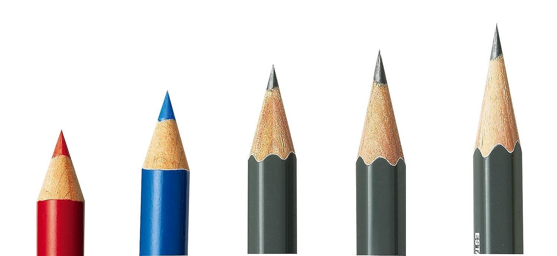Taille-crayon Kutsuwa /à angle d/'inclinaison r/églable pour taille-crayon t/'gaal vert RS017GR