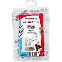 fischer Meister-BOX DUOBLADE, praktische assortimentsdoos met 77 DUOBLADE pluggen, schroeven en haken, zelfborende…