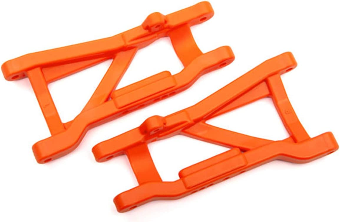 Heavy Duty, Cold Weather Material Traxxas 2555T Suspension arms Orange 2 Rear
