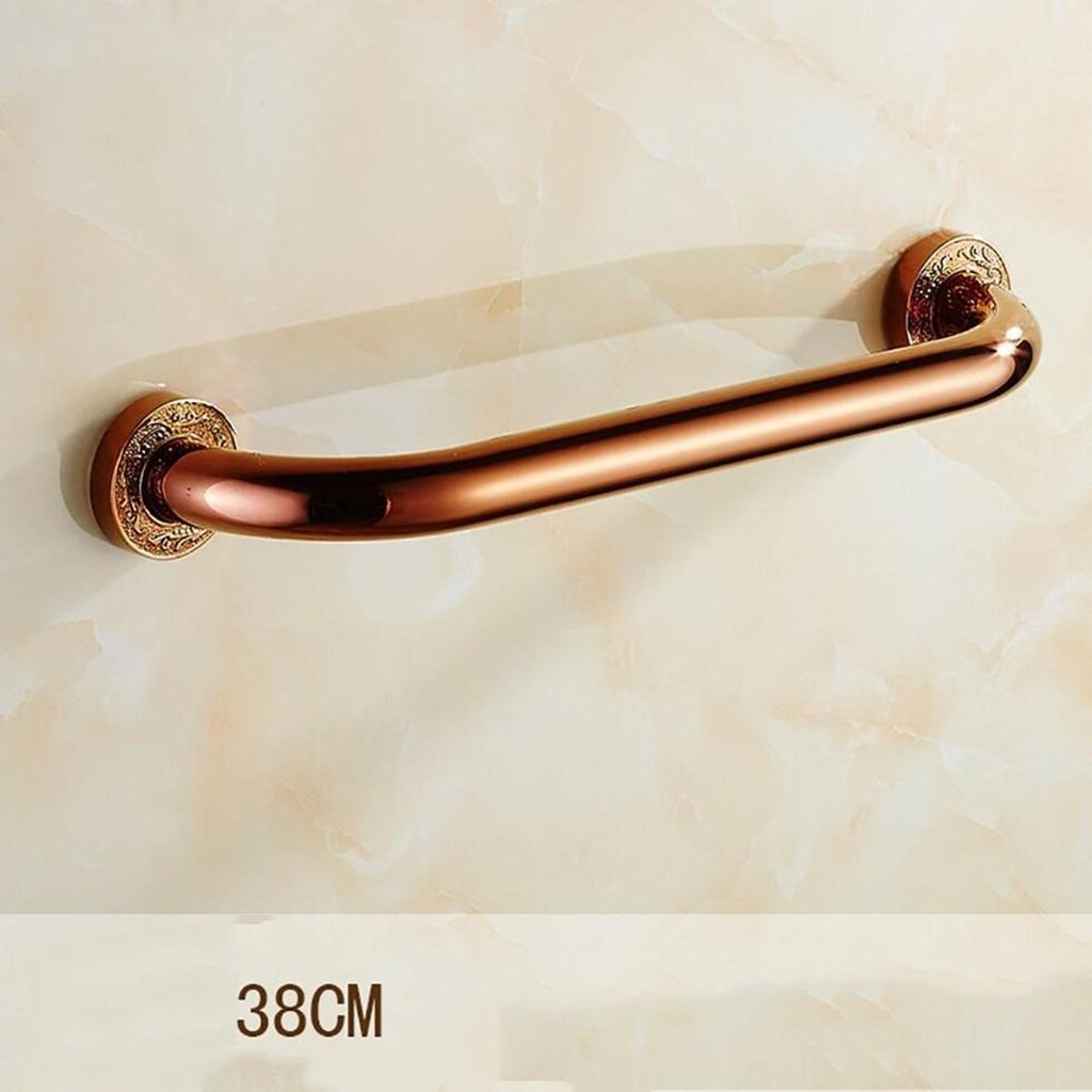 YAOHAOHAO Stainless steel bathroom handrail obstacle to maintain the aid/Communities shower style Help & Support Security Handrail (Size: 48 cm).
