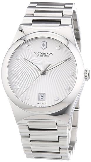 Victorinox Swiss Army 241630 - Reloj de pulsera mujer, acero inoxidable, color plateado: Amazon.es: Relojes