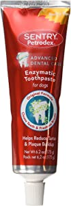 Petrodex Enzymatic Toothpaste for Dogs, Helps Reduce Tartar and Plaque Buildup, Poultry Flavor