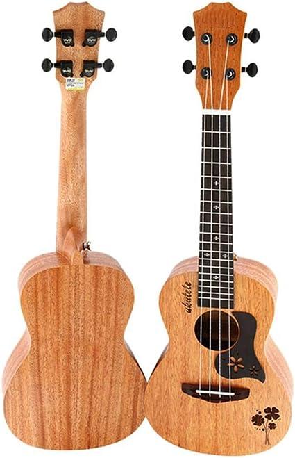 ZGHNAK Ukelele de concierto 23 pulgadas 4 cuerdas Mini guitarra ...