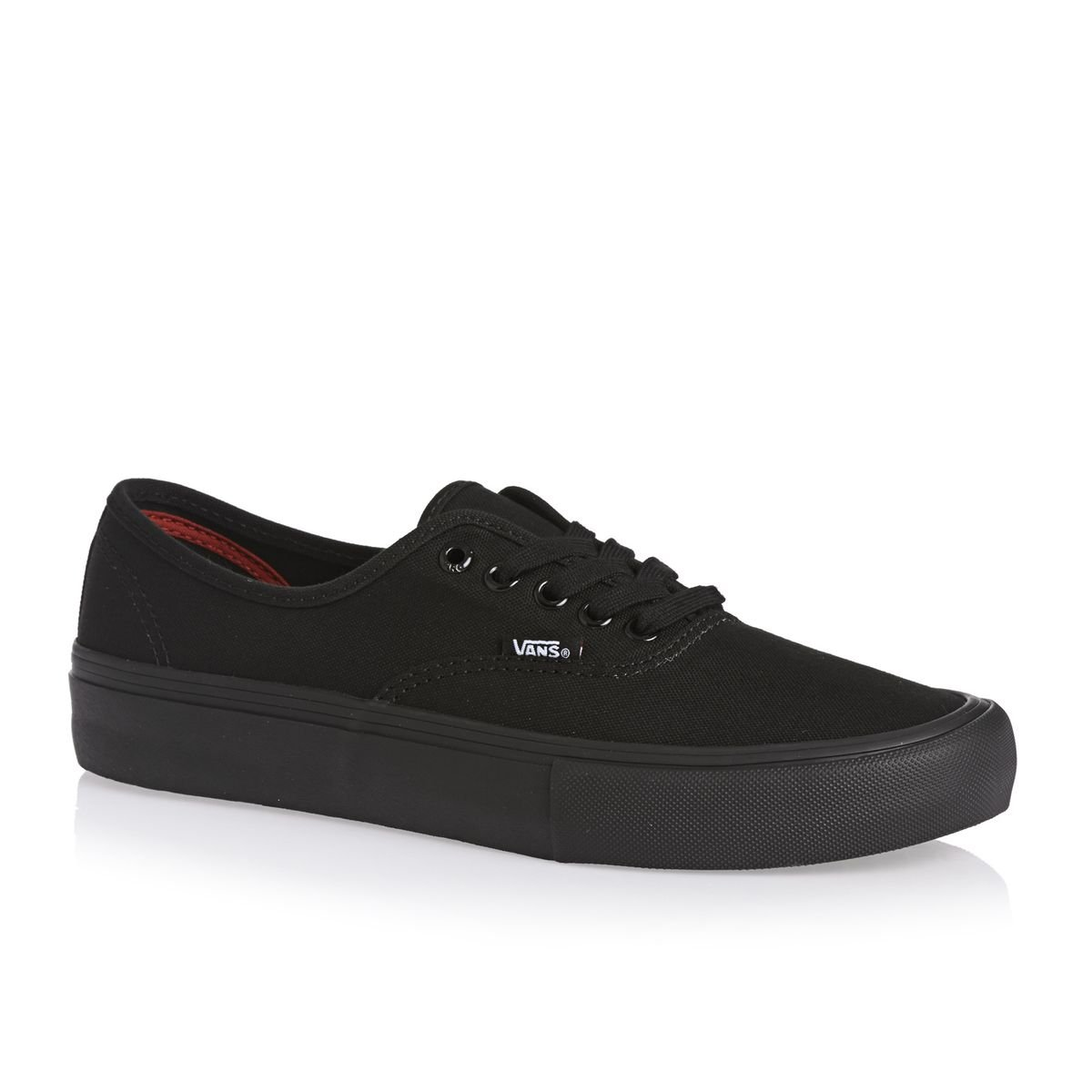 Vans Authentic, Zapatillas de Tela Unisex 42.5 EU|Black/black