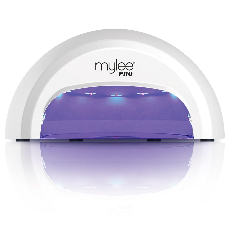 4e3eb63dfa3 Mylee PRO Salon Series LED 15-Second Convex Curing 5-Finger Nail Drying Lamp   Amazon.co.uk  Beauty
