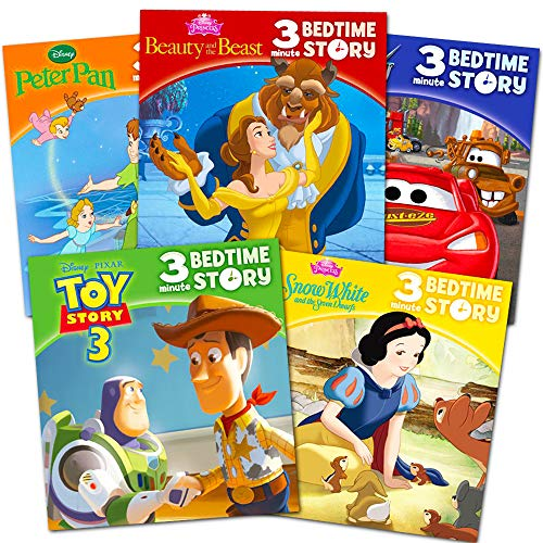- Disney Bedtime Stories for Toddlers Kids -- Bundle Includes 5 Disney Storybooks Featuring Disney Toy Story, Beauty and the Beast, Peter Pan and More (Bedtime Collection)