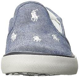 Polo Ralph Lauren Kids Bal Harbour Fashion Sneaker (Toddler/Little Kid), Light Blue/White, 8 M US Toddler