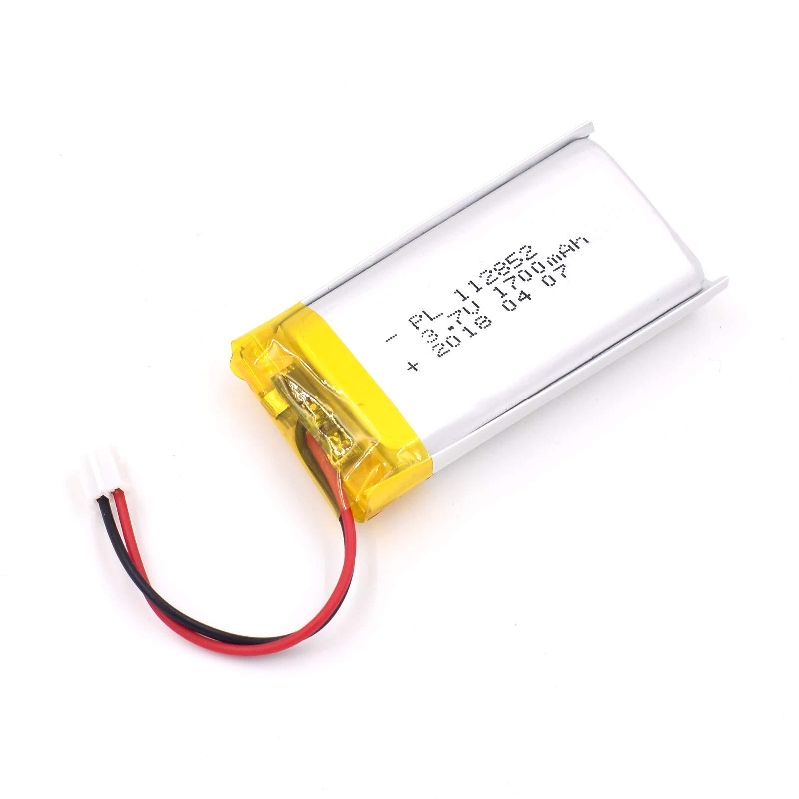 Bateria LIPO 3.7V 1700mAh 112850