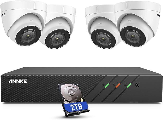 new * Annke poe ip camera 5mp super hd home security camera i51dj