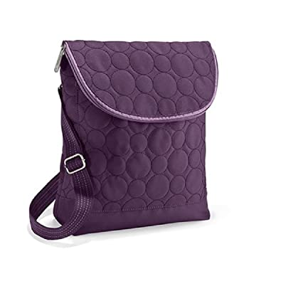 Thirty One Vary You Backpack Purse 4196 Plum Quilted Dots ...