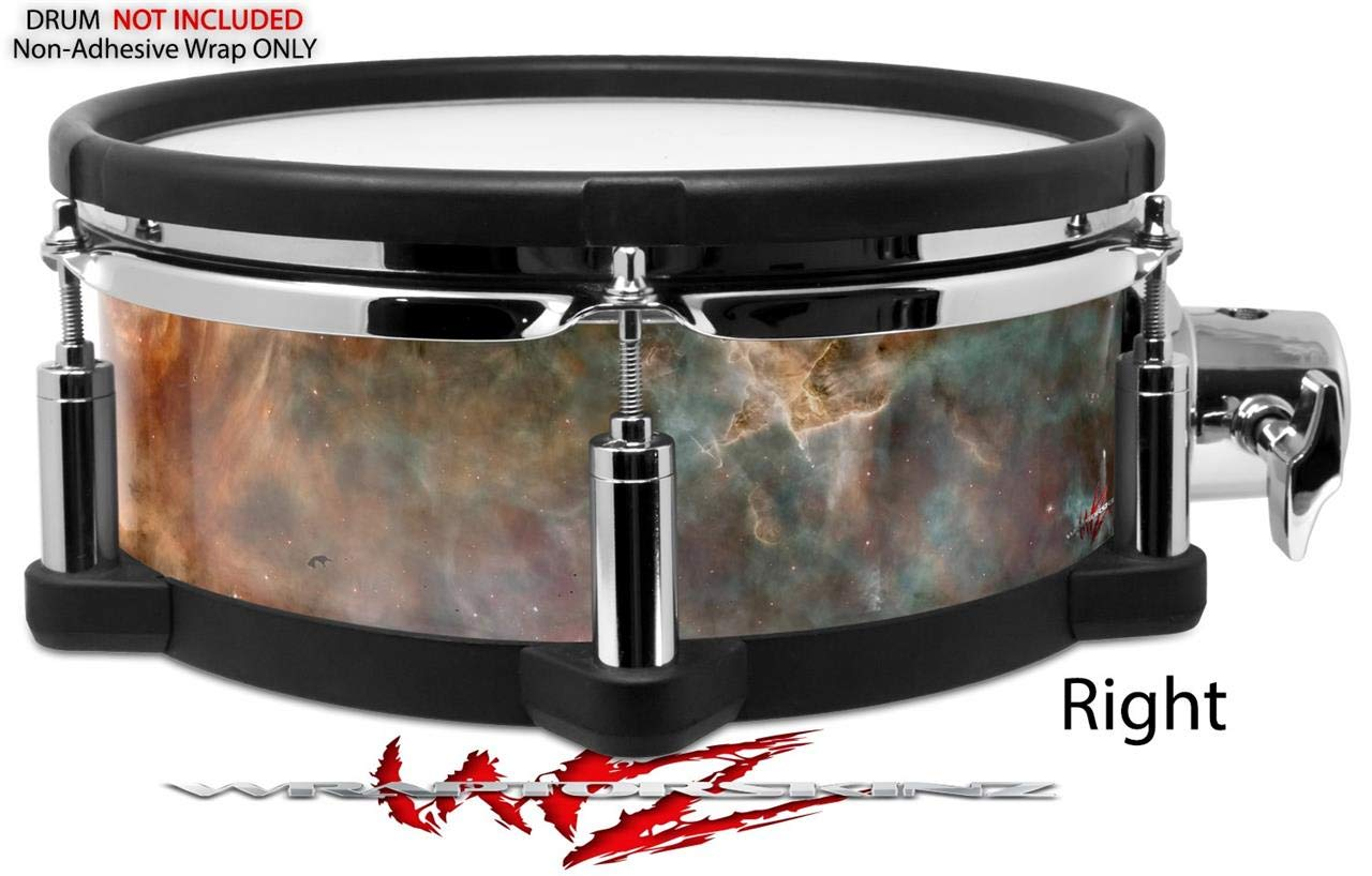Skin Wrap Compatible with Roland PD-108 Drum Hubble Images Drum NOT Included Carina Nebula