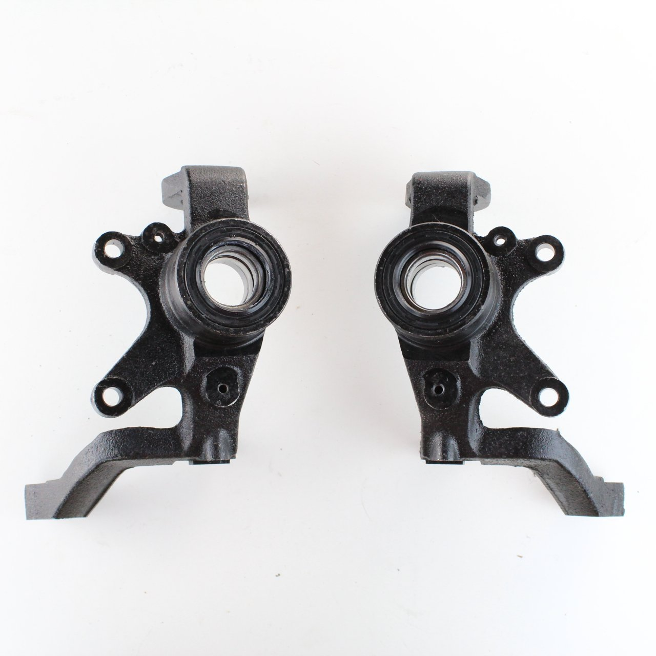 NICHE Front Left And Right Steering Knuckles for Yamaha Rhino 660 2004-2007 Niche Industries