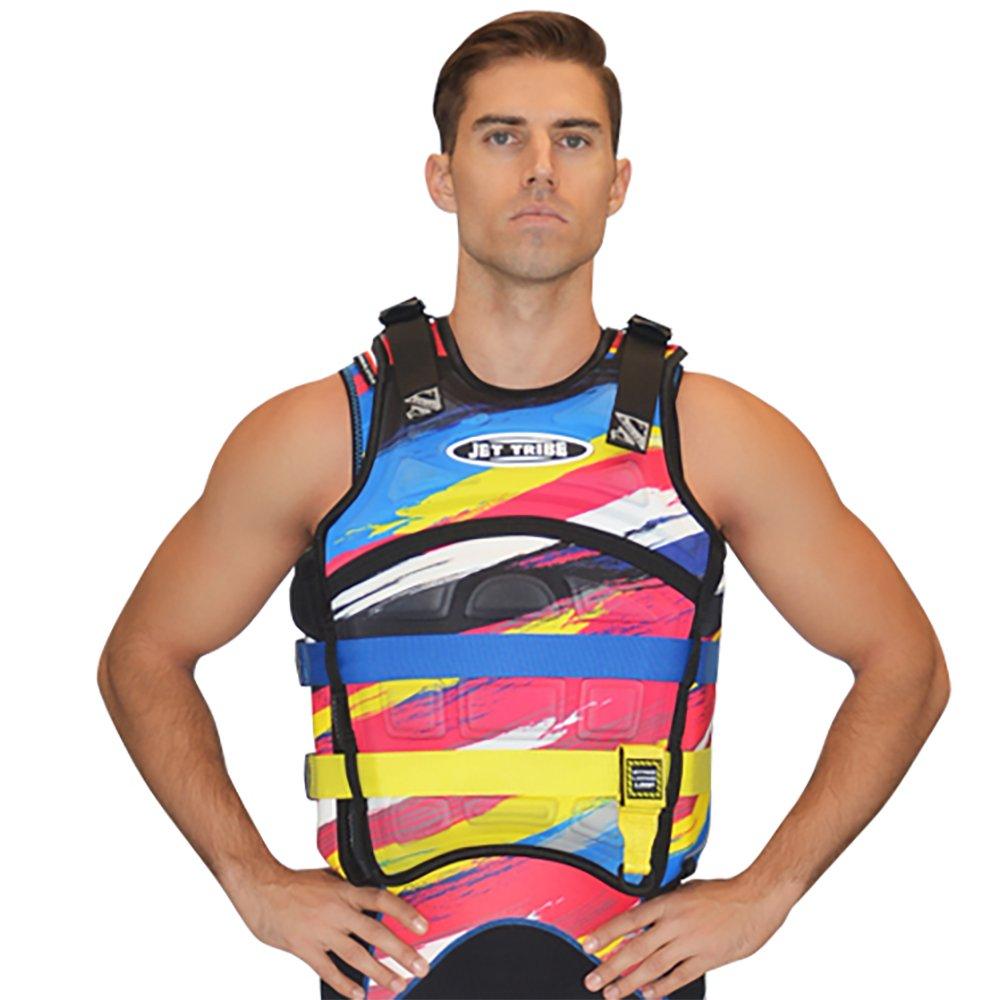激安店舗 jettribeイエローSentinel Race Scratch Jacket Race Vest Jetski Life Jacket L/XL Jetski B071FMYB94, はせがわ酒店:072c7825 --- a0267596.xsph.ru