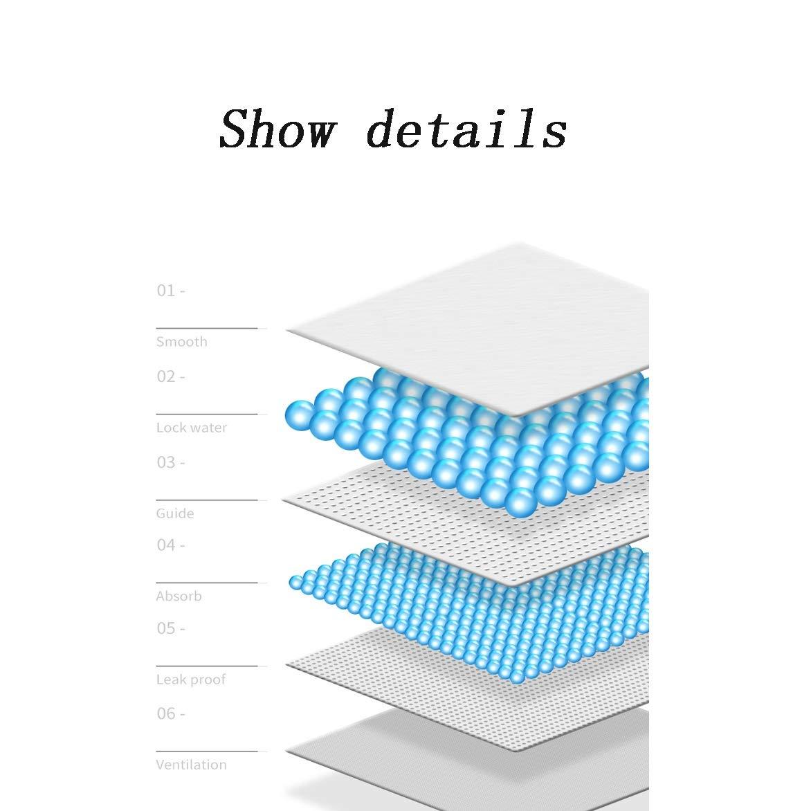 6-18 kg monatliche Packung leicht anzuziehen Windelhose, Size : S ZENGZHIJIE Baby-Dry Gr/ö/ße 4 Verpackung kann variieren bis zu 12 Stunden atmungsaktive Trockenheit