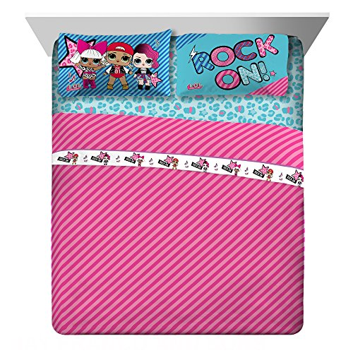 Price comparison product image MGA Lol Surprise Born Rockers Full Sheet Set, 4 Piece Total