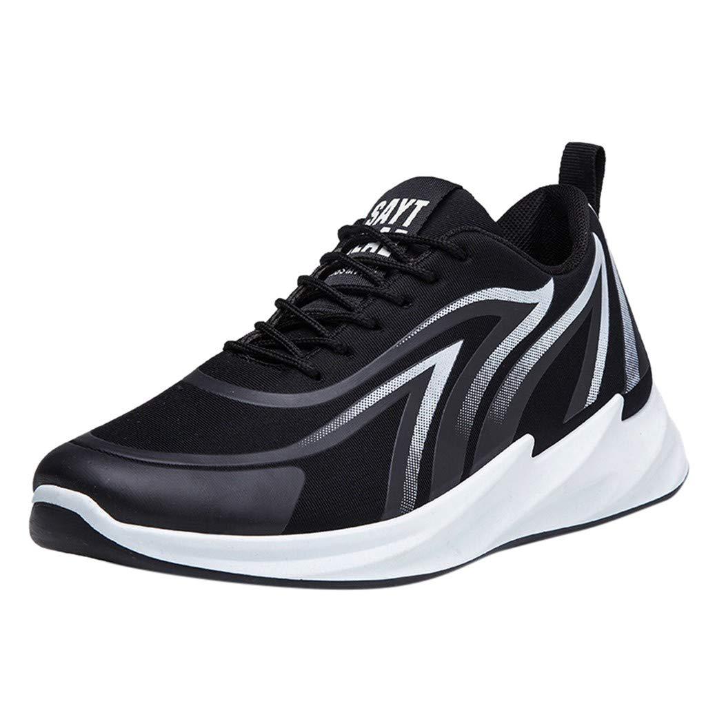 CUTUDE Turnschuhe Ineinander Herren Basketball Schuhe Dämpfung Anti Skid Breathable Weiche Unterseiten Atmungsaktive Outdoor Geiläufige Sportschuhe Sneakers