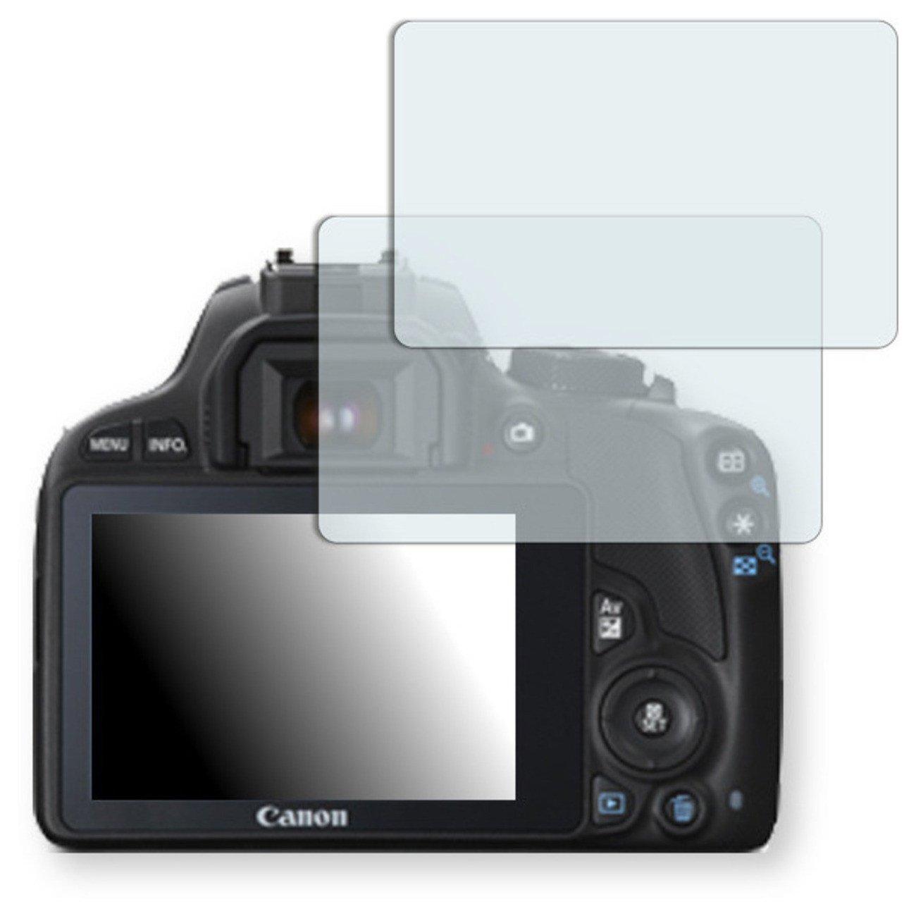 GOLEBO 2x Anti-Glare screen protector for Canon EOS SL1 (Anti-Reflex, Air pocket free application, Easy to remove)